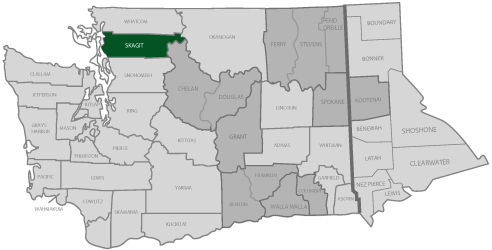 Skagit County home map